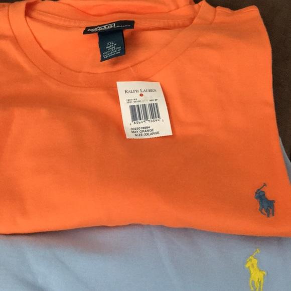 ad6d480f19ce Set of 2 Polo Ralph Lauren mens xxl short sleeve T